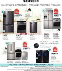 Kitchen Appliance Packages Canada Best Buy Canada Black Friday Flyer Nov 25 Dec 1 2016