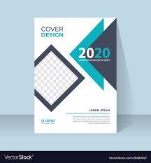 Free Book Cover Design Modern Book Cover Design Template In A4