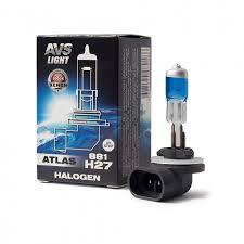 <b>Лампа</b> галогенная <b>AVS ATLAS</b> BOX /5000К/ H27/881 12V.27W (1 ...