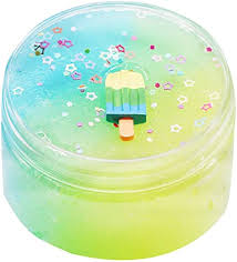 Drfoytg Birthday Gifts Fluffy Slime Beautiful Three ... - Amazon.com