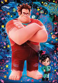 Disney Ralph breaks the Internet - 104 pcs - 3D Vision Puzzle - Clementoni