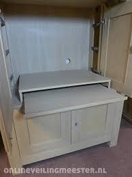 tv kast. tv kast borgo, eiken, kleur white wash,2 inschuifdeuren, 2 deuren,
