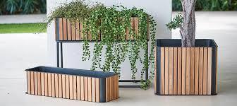 outdoor planter boxes. Header_plant-stuff-large-outdoor-planters-cane-line-flowerbox Outdoor Planter Boxes