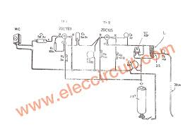 1 5v fm transmitter circuit 88 108mhz eleccircuit com figure 1 the schematic diagram the components layout