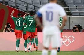 طوكيو 2021: هزيمة ثقيلة لفرنسا أمام المكسيك وتعادل ثمين لمصر أمام إسبانيا  في افتتاح مباريات كرة القدم