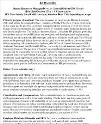 school district human resources director job description human resource associate job description