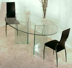 glass dining table base. All Tempered Glass Pedestal For Oval Top Dining Table, Magnificent Table Bases Base S