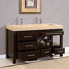 bathroom vanities double sink 60 inches. Entranching 60 Vanity Double Sinks In Inch Modern Sink Bathroom Espresso UVDE016A61 Vanities Inches A