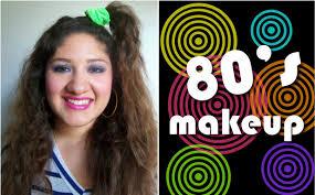makeup monday how to do 80 s makeup
