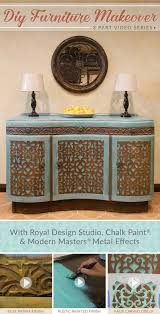 diy furniture makeover. DIY Furniture Makeover 3 Part VIDEO TUTORIAL Series: Rust Finish, Stencil Grille And Distressed Diy