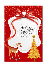 Christmas Card Background Christmas Card Red Background Image For