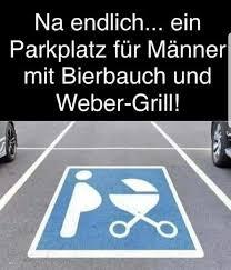 Männer Lustig Witzig Bild Bilder Sprüche Spruch Parkplatz Lustige