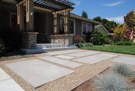 to pour concrete pavers