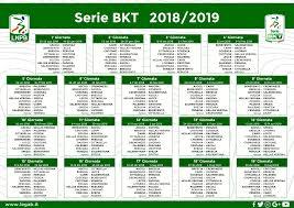 Calcio, il calendario della serie B: tutte le partite