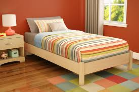 comfortable platform bed frame twin