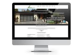 access garage doorsPortfolio  Access Garage Doors  NetClimber Web Design Inc