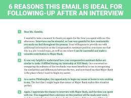 Template Follow Up Interview Letter Template Best Solutions Of