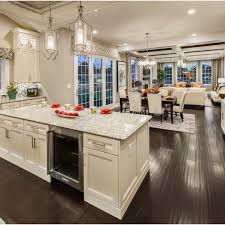 Kitchen Dining And Living Room Design Loving This Open Concept By Tollbrothers Interiors Exteriors