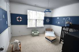 nautical baby room ideas nautical theme baby room decoration with black crib and cabinet table