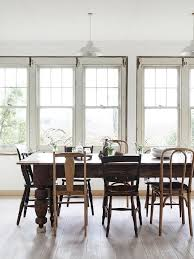 Captivating Antique Dining Room Sets For Sale White Brown Wooden  Decorative Chairs And Table White Frame