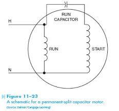 permanent split capacitor motor hvac troubleshooting permanent split capacitor permanent split capacitor motor