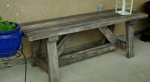 Small Picture Rustic Wooden Stone Garden Benches