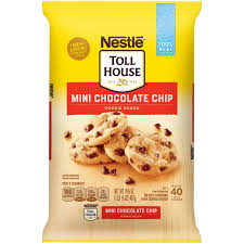 toll house mini chocolate chip nestle toll house mini chocolate chip cookie dough