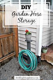 diy garden hose storage dwelling in
