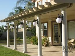 brown aluminum patio covers. Patio Design Brown Aluminum Covers A