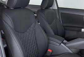 Quilted Leather Car Seat Inserts | Doyles In Car & Leather car seats quilted inserts Prius Adamdwight.com