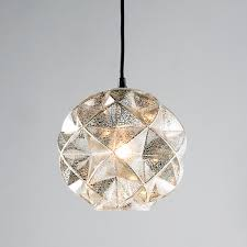 mercury glass chandelier in geodesic dome pendant light shades of designs 11