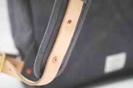 if you have tried setting one of these copper rivets you ll know how much of a hassle it is this bag has got 13 of em