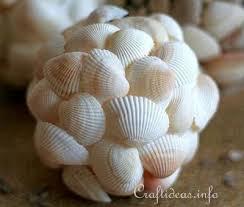 1 seashell decorator ball