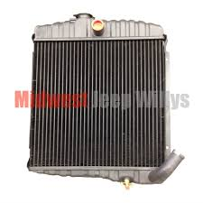 jeep part jeeprad 3 new 3 row 17 radiator for 1965 1968 jeep cj5 new 3 row 17 radiator for 1965 1968 jeep cj5 cj6 225 dauntless v6 cylinder engines