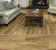 shaw duratru resilient sheet flooring in style knollwood color morning sun