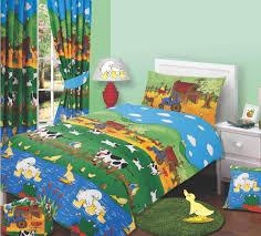 farmyard themed design reversible boys girls childrens bedding duvet quilt cover