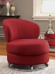 Red Swivel Chairs  FoterContemporary Red Chair