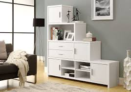 Multi Purpose Living Room Decorations Mounted Bookshelf With Hidden Style Over The Big Tv