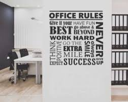 office rules collage vinyl wall lettering vinyl wall decals vinyl letters vinyl lettering wall quotes office decal amazing wall quotes office