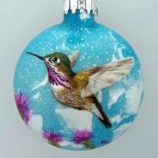 hummingbird ornaments jeweled ornament tree decorations hummingbird ornaments glass baron feeder ornament tree