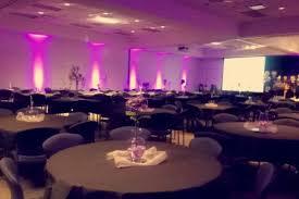 21 lights set up for an event