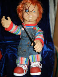 life size chucky doll animated lifesize talking chucky doll childs play demonic
