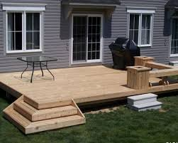 Backyard Deck Design Property