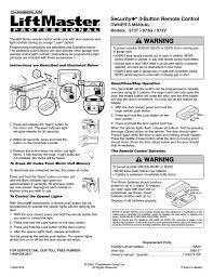1 2hp garage door opener user manual