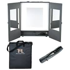 Portable Vanity Mirror With Lights Custom Portable Mirror With Lights Actionspaparts