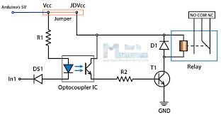 hl 52s relay module circuit schematics eletronica hl 52s relay module circuit schematics