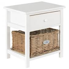 small white bedside table hartleys
