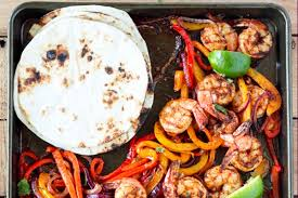 sheet pan shrimp fajitas sheet pan shrimp fajitas true fitness windsor