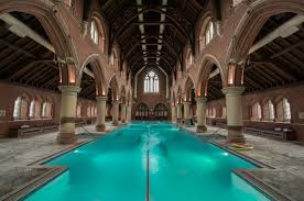 the london church that s a swimming pool