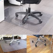 pvc home office chair floor. New Non Slip Home Office Chair Desk Mat Floor Protector PVC Plastic Pvc H